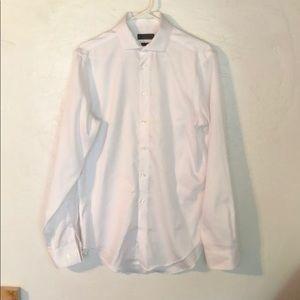 Men's Calvin Klein White Dress Shirt